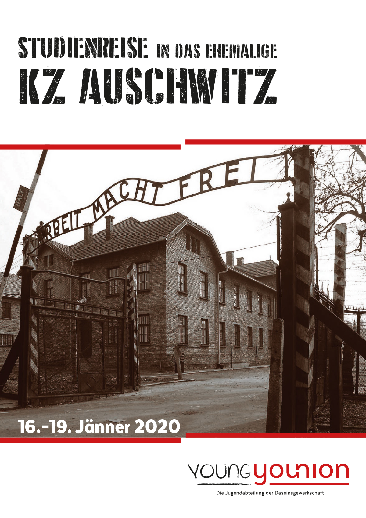 Studienreise Auschwitz 2020 - Young Younion